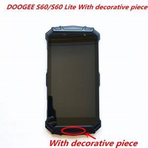 Image 4 - Original For DOOGEE S60/S60 Lite LCD Display With Frame+Touch Screen Digitizer Assembly 5.2inch Replacement Glass + Repair Tools
