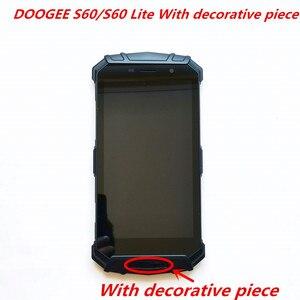 Image 4 - Original pour DOOGEE S60/S60 Lite écran LCD avec cadre + écran tactile numériseur assemblage 5.2 pouces verre de remplacement + outils de réparation
