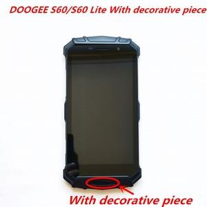 Image 4 - Originele Voor DOOGEE S60/S60 Lite LCD Display Met Frame + Touch Screen Digitizer Montage 5.2inch Vervanging Glas + reparatie Tools