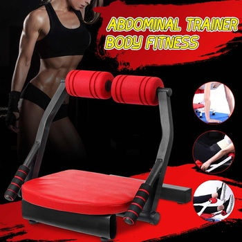 Fitness-Chair Bench Sit-Ups Equipment Abdominal Exercise Ab Roller Suction Cup Home Abdomen Fitness Auxiliary Sit-Ups Tools