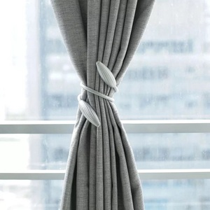 Image 4 - Neue Perle Magnetische Kugel Vorhang Einfache Krawatte Seil Rücken Holdbacks Schnalle Clips Zubehör Stangen Accessoires Haken Halter Home Decor