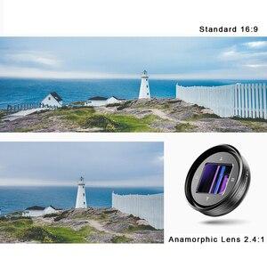 Image 2 - Apexel 2020 Mới Nhất 1.33X Anamorphic Ống Kính Màn Hình Rộng Máy Quay Ống Kính Vlog Phim Chụp Biến Dạng HD Máy Ảnh Điện Thoại Di Động Ống Kính
