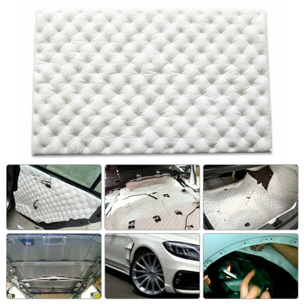 Car Sound Proofing Deadening Mat Heat Noise Insulation Closed Cell Foam Flame Retardant 80*50cm Wholesale Quick delivery CSV