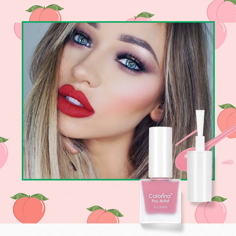 Liquid Blush Repairing Rouge Water Blush Beads Shiny 6-color Silky Lasting Makeup Cosmetics Beauty Products Make Up Tool
