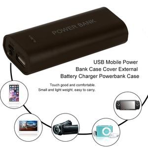 5600 мАч 2X18650 USB Мощность банк Батарея Зарядное устройство чехол сделай сам, коробка для iPhone для смарт телефона MP3 электронные мобильные зарядк...