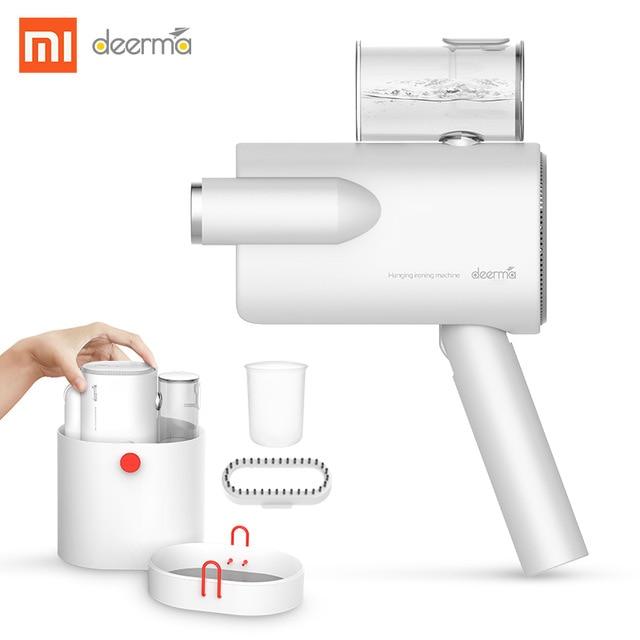 [해외] Xiaomi deerma DEM-HS006 접이식 핸드 헬드 의류 기선 스팀 다리미 가정용 휴대용 소형 옷 주름 살균