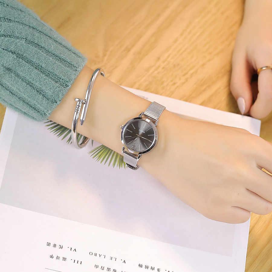 Wanita Mewah Jam Tangan Fashion Relogio Feminino Stainless Steel Band Marmer Tali Analog Reloj Mujer 2019 Montre Femme