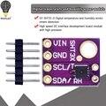 Оригинальный интерфейс I2C, SHT30, цифровой выход, датчик температуры и влажности, точность, разрыв, Погодная модель для Arduino