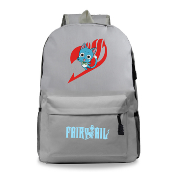 new arrival women backpack 100% genuine leather ladies travel bags preppy style schoolbags for girls knapsack holiday Students Anime FAIRY TAIL Backpack Children Cartoon Happy Schoolbags Boys Girls Kids Shoulders Knapsack Women Men Travel Bags