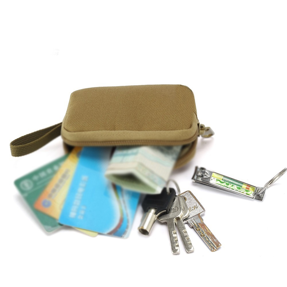 Hb9aaa3ab67b54397a48315c3ccdf3cdde - Tactical Mini Wallet Card Bag Small Pocket Key Pouch Money Bag Men Waterproof Portable EDC Pouch Hunting Outdoor Waist Bag Nylon