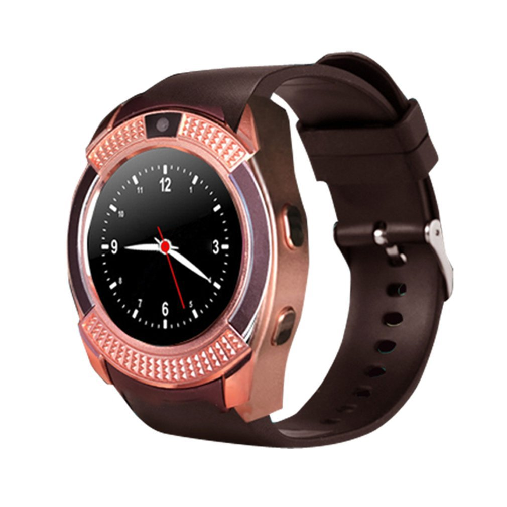 Waterproof Smart Watch Men with Camera Bluetooth Smartwatch Pedometer Heart Rate Monitor Sim Card Wristwatch