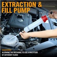 200cc Öl Extractor Füllung Spritze Manuelle Pumpe Kraftstoff Pumpe Auto Zubehör Öl füllung Ausrüstung herramientas Auto Reparatur Werkzeug