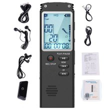 Portable Digital Voice Recorder Voice Activated Digital Sound Audio Recorder Recording Dictaphone MP3 Player 15w submersible water pump with led light for garden aquarium fish tank pond fountain pump