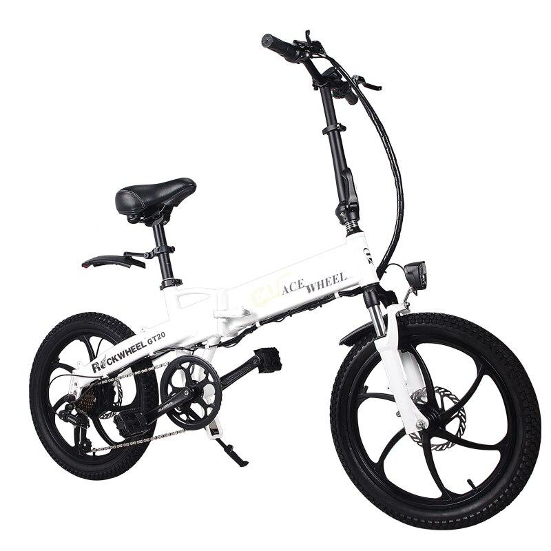 Folding bike Aluminum Electric electric Bicycle 20inch 400W Powerful Mottor 48V10A Battery 32km/h Mountain e bike city/Snow bike 6