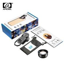 APEXEL HD 2x 망원 세로 렌즈 전문 휴대 전화 카메라 아이폰에 대한 망원 렌즈 삼성 안드로이드 스마트 폰 HB 2X
