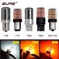 1PCS T20 7440 7443 W21W 1157 BAY15D LED Bulbs 1156 BA15S P21W BAU15S 3014 144smd Error Free Canbus Turn Signal Lights Brake lamp