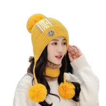 Осенне зимняя шапка женская Толстая Теплая Бархатная меховая