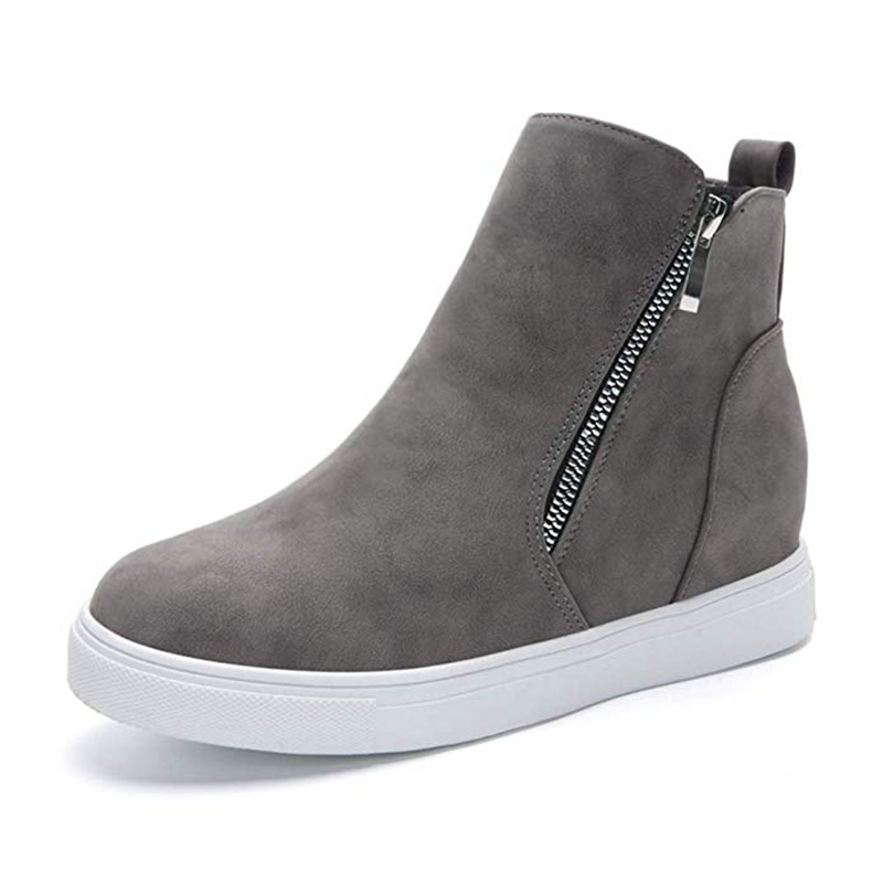 SHUJIN 2019 Autumn Women Sneakers Casual Shoes Flats Women Leaopard Flats Platform High Top Slip-on Breathable Women Canvas