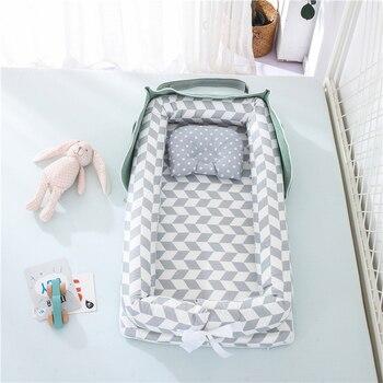 Φορητό πολυλειτουργικό πτυσσόμενο κρεβατάκι μωρού