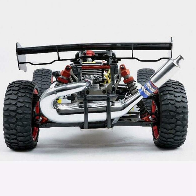Exhaust Tuned Pipe Muffler for 1/5 HPI KM Rovan Baja 5B 5T 5SC 5SS Rc Boat Parts Rc Boat Muffler
