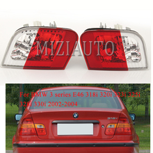 For BMW 3 series E46 318i 320i 323i 325i 328i 330i 2002-2004 Inner side Rear tail light Brake Light turn signal taillights Fog pao motoring coilover shock absorber for bmw e46 suspension 3 series 318i 320i 325i 328i non adjustable damper struts kit