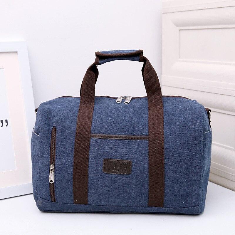 Women Men Travel Bag Folding Bag Protable Women Tote Waterproof Canvas Casual Large Capacity Travel Duffel Bag Unisex Luggage