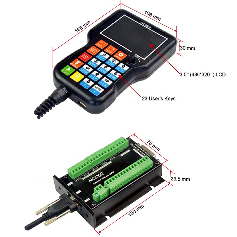 Ncd02 3 4 5 eixo dsp manual