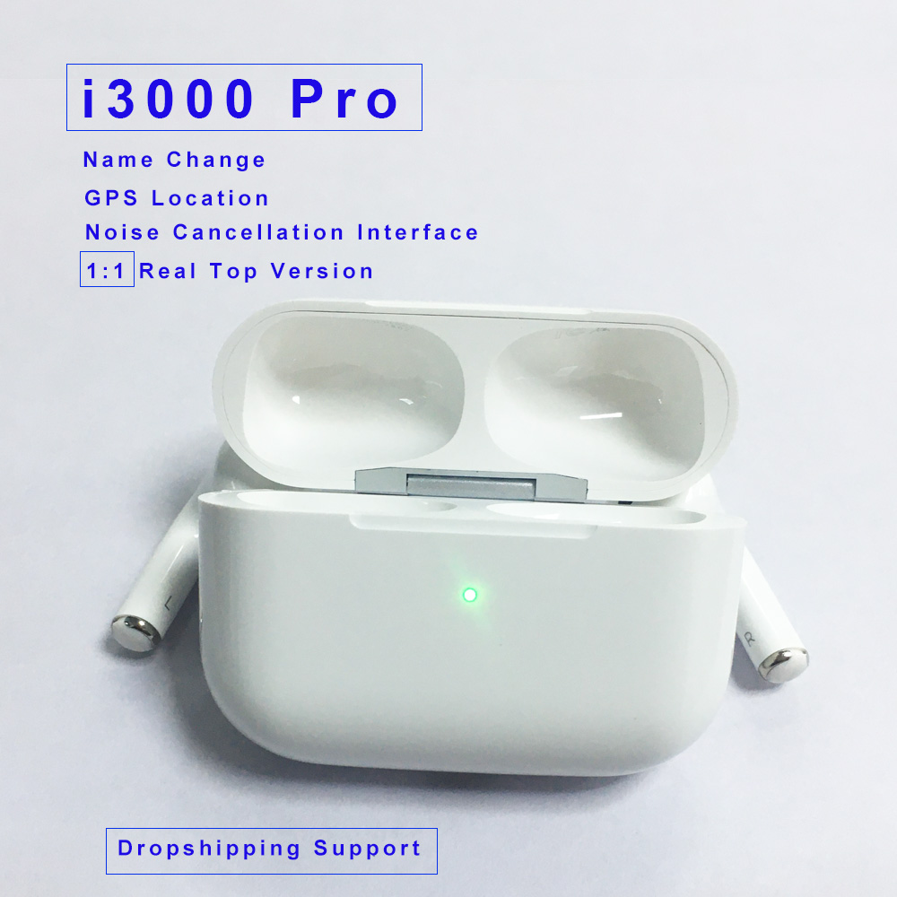 Original I3000 Pro TWS New Wireless Earphones Bluetooth Headsets Earbuds Earphones PK W1 Chip I100000 I200000 I500 I9000 Tws