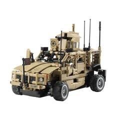Kit de bricolaje para vehículo de ataque blindado 1:12 2,4G, carreras de pista con control independiente