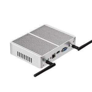 Image 4 - Mini PC Intel Pentium 4405U Windows 10 Linux DDR3L RAM mSATA SSD HDMI VGA 6 * USB 300Mbps WiFi LAN Gigabit sin ventilador HTPC Office PC