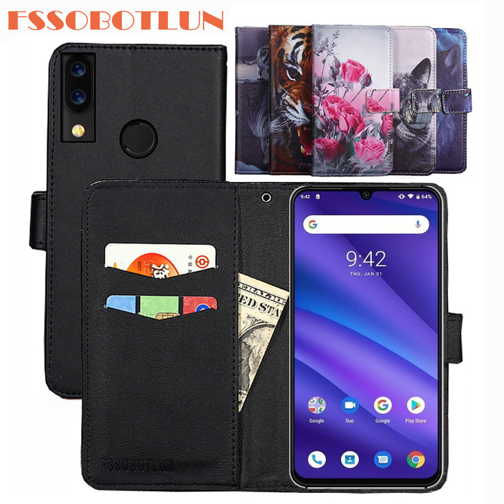 For <font><b>Ulefone</b></font> Note 7 7P P6000 Plus Power 3L 6 S11 S10 Pro S9 <font><b>S1</b></font> X PU Leather Retro Flip Cover Shell Magnetic Fashion Wallet <font><b>Case</b></font> image