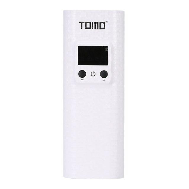 18650 caricabatterie Torcia Led powerbank batteria di caso di immagazzinaggio di visualizzazione intelligente TOMO Q2