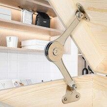 2 pçs dobradiças de apoio de tampa resistente macio perto dobramento tampa ficar dobradiça manter a dobradiça da tampa aberta para o armário de cozinha ferragem do guarda-roupa