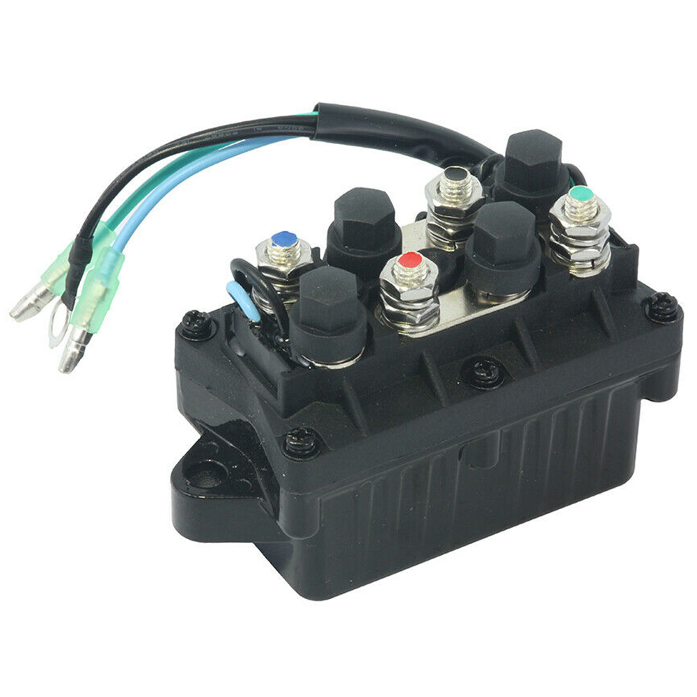 Replacement Assy Practical 120A 12V Engine Direct Fit Outboard Relay Trim Aluminum Tilt Boat Motor Power For Yamaha 6H1-81950-00