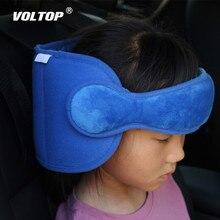 Criança carrinho de bebê segurança assento de carro cinto almofada travesseiro assento de carro cabeça apoio sono nap aid criança cabeça protetor cinto handband titular