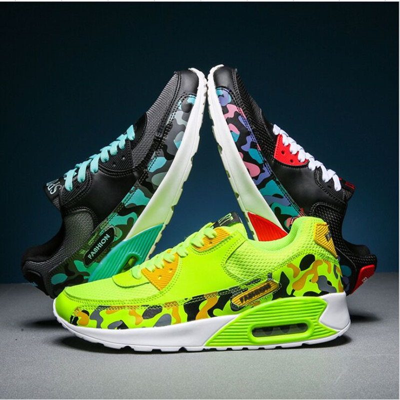 Mens Boys Air Cushion Running Shoes Mesh Sports running Trainers Sneakers Shoes