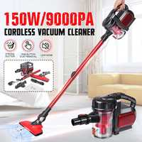 Wireless 2 in 1 150W 9000Pa Corded Handheld Home Commercial Vacuum Cleaner Large Suction Capacity Powerful Aspirator Appliances