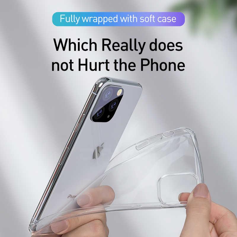 Di lusso Chiaro Caso Molle di TPU Per il iPhone 11 Pro Max 7 8 6 6s Plus 7Plus 8 Più X XS MAX XR Cassa Del Telefono Trasparente Per 5 5s SE 6sPlus