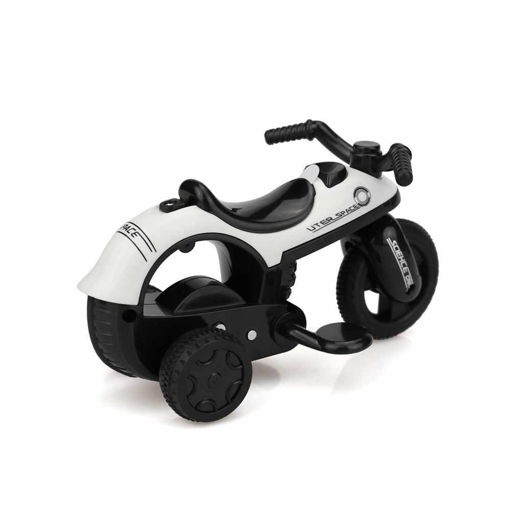 Kinderen Speelgoed Motorfiets Model Mini Voertuig Pull Back Fietsen met Grote Wiel Creatieve Cadeaus voor Kids Funny Kids Dropship 2019