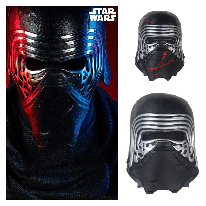 Star Wars The Rise Of Skywalker Kylo Ren Ben Solo Cosplay Masks Adam Douglas Driver Jedi Killer Latex Mask Helmet Party Props Boys Costume Accessories Aliexpress