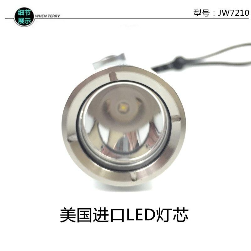poderoso comboio lanterna recarregável luz tocha linternas portátil iluminação bi50fl
