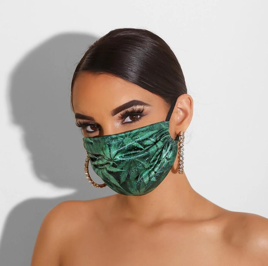 3-layer Adult Big Mouth 3D Printed Face Fabric Masks Fashion Butterfly Reusable Protection Dust Washable Masks Proof Mask