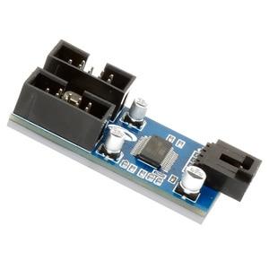 Image 2 - XT XINTE 9pin USB Đầu Nam 1 Đến 2/4 Nữ Dây Nối Dài Thẻ Để Bàn 9 Pin Hub Chia Cổng USB 2.0 9 Pin Kết Nối Cổng Số Nhân