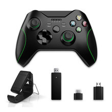2.4G Wireless Gamepad For Android Xbox One PS3 Windows PC 7/8/10 Joystick Game Controller Hand Grip Clip Holder Joypad DROPSHIP