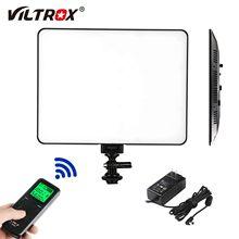 Viltrox VL-200T magro led luz de vídeo pode ser escurecido bi-color led remoto sem fio para youtube vídeo ao vivo fotografia de estúdio de tiro