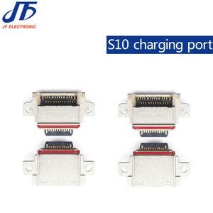 Image 1 - 10 stks/partij Originele Voor Samsung Galaxy S10/S10 Plus/S10E Poort Opladen Connector Lader Connector Jack Micro USB socket