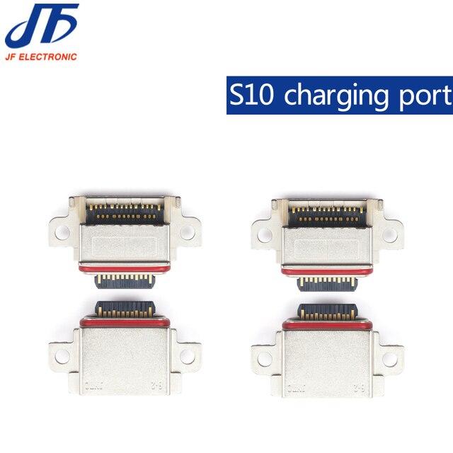 10 stks/partij Originele Voor Samsung Galaxy S10/S10 Plus/S10E Poort Opladen Connector Lader Connector Jack Micro USB socket