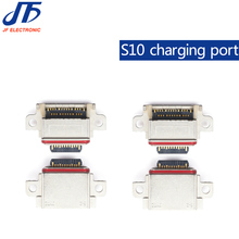 10 teile/los Original Für Samsung Galaxy S10/S10 Plus/S10E Lade Port Connector Ladegerät Stecker Jack Micro USB buchse
