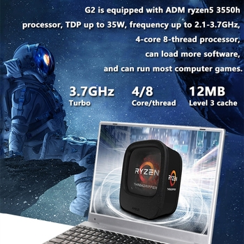 KUU G2 Gaming Laptop AMD Ryzen5 3550H 16GB Dual channel DDR4 RAM 256/512GB PCIE SSD 15.6-inch IPS Screen Office/Gaming Notebook 2