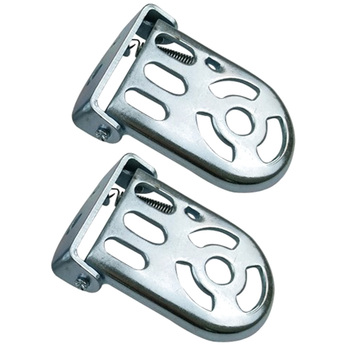 1 Pair Bike Rear Kids Footrest Foot Plates Pedals Bicycle Metal Folding Footrest Cycling Accessory image